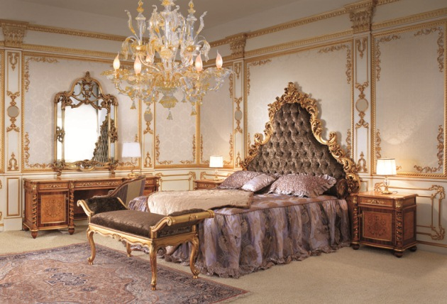 室內風格 巴洛克臥室