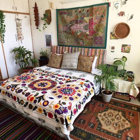 室內風格 波西米亞風格臥室