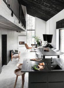 現代風廚房飯廳
