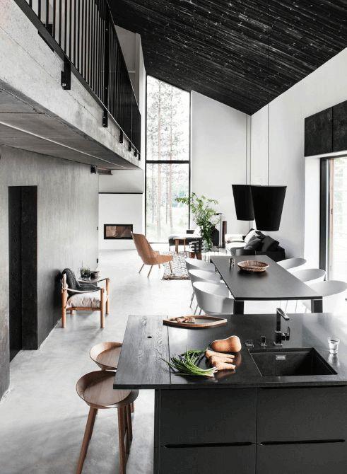 室內風格 現代風廚房飯廳