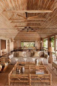 南洋風客廳