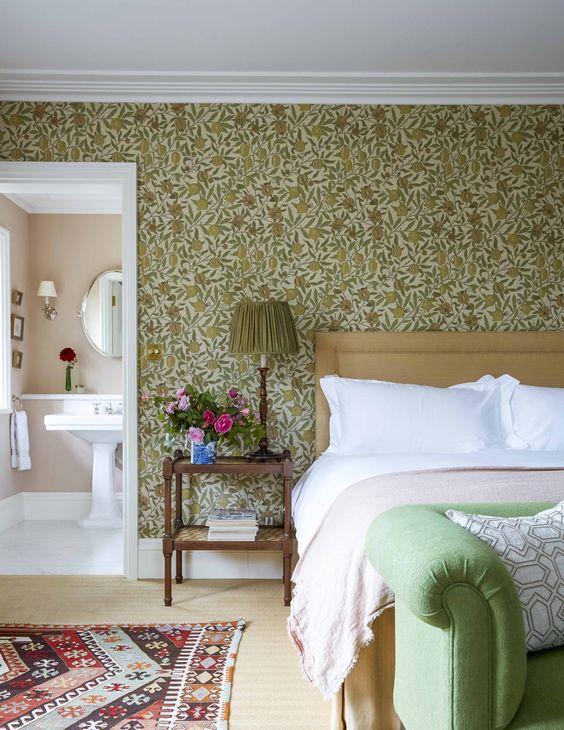 室內風格 歐式鄉村風臥室