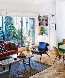 室內風格 中世紀現代風客廳