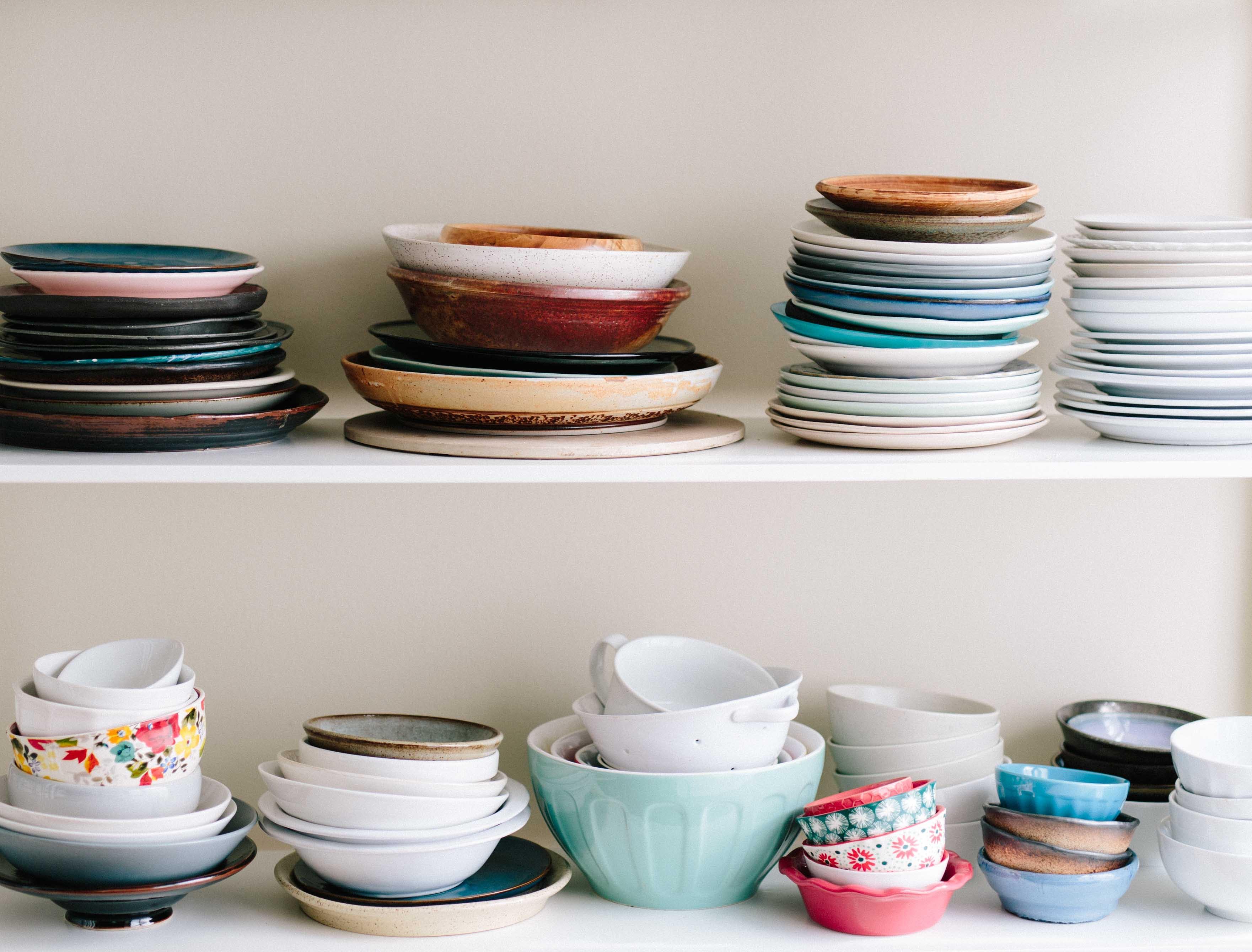 軟裝佈置 餐盤收藏
