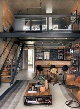 室內風格 工業風客廳