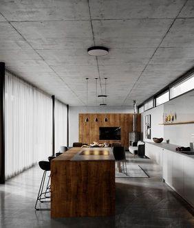 室內風格 輕工業簡約風LDK