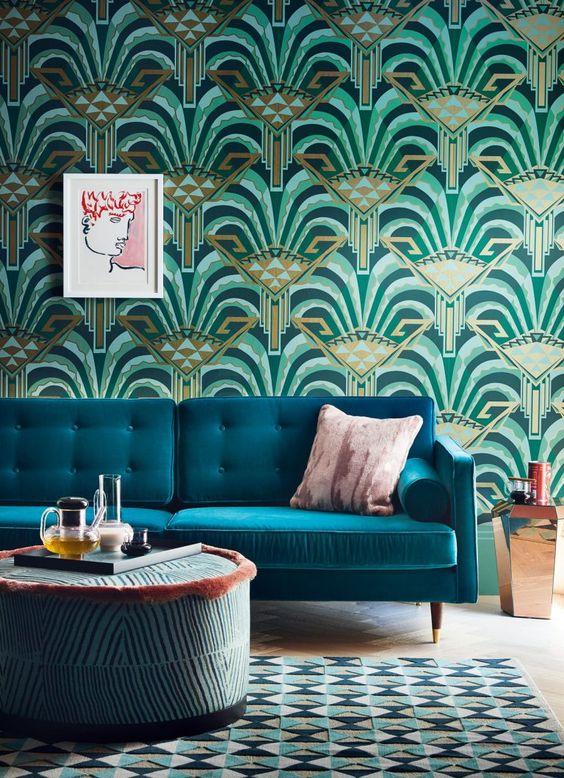 室內風格 藝術裝飾風客廳