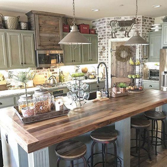 室內風格 美式鄉村風廚房