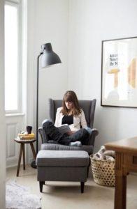 如何佈置臥室 閱讀小角落