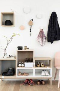 玄關佈置 DIY鞋櫃