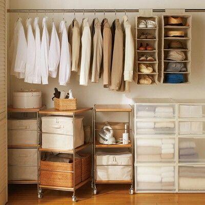 如何佈置臥室 收納衣物