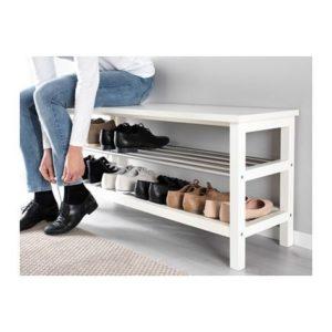 玄關佈置 穿鞋椅