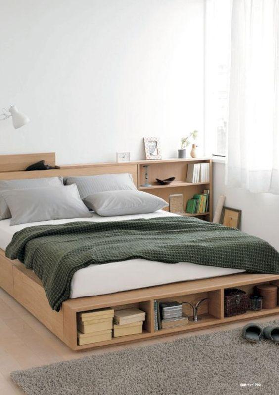 如何佈置臥室 床下收納