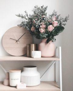 臥室佈置 花藝
